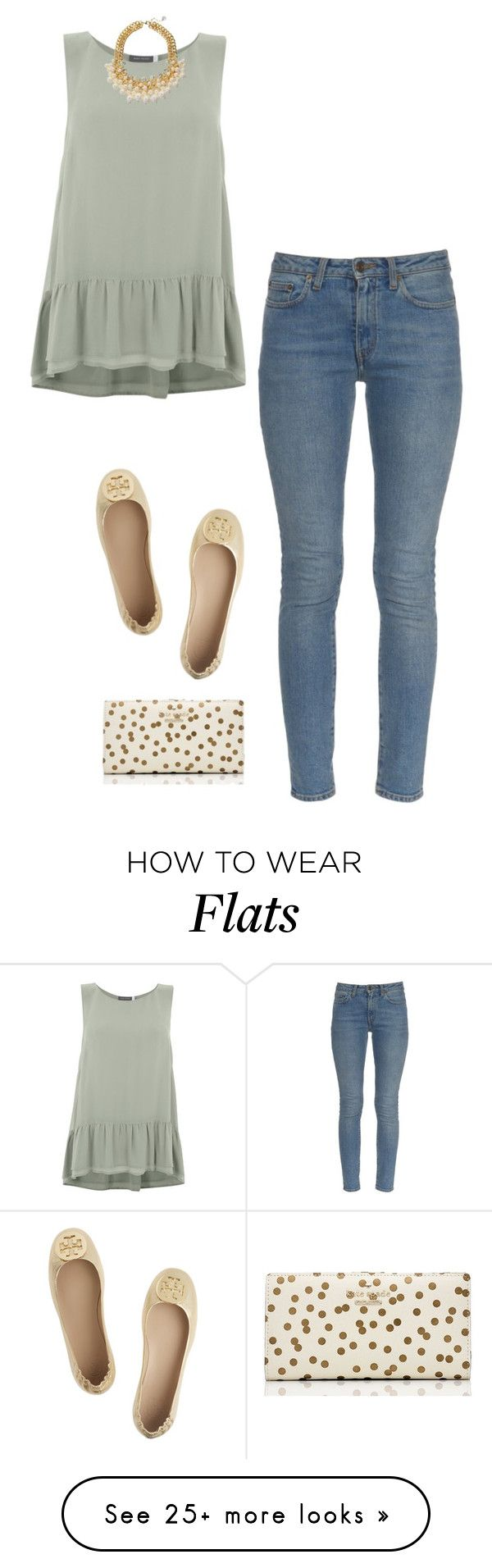 """""""SS16"""" by afamoustragedy on Polyvore featuring Mint Velvet, Yves Saint Laurent, Tory Burch and Kate Spade"""