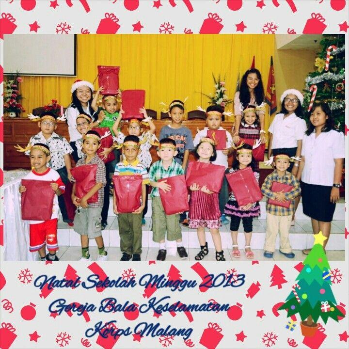 Sekolah Minggu Natal 2013