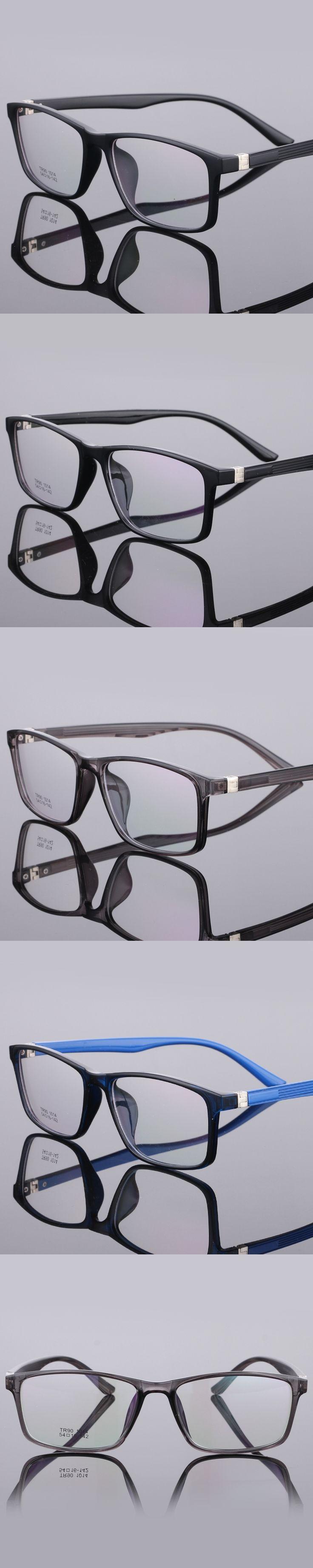 The New TR90 women Glasses frame retro optical clear Full box Eyeglasses frame Men prescription glasses frames 1014