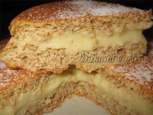 Лимонный торт с кремом | Диета Дюкана