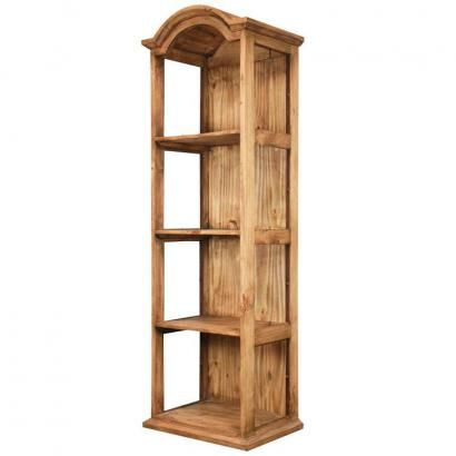 Place+these+beautiful+rustic+pine+wooden+shelves+in+any+room+of+your+home.++Ideal+for+use+as+a+narrow+bookshelf+or+as+display+shelves+for+your+collectibles,+it+can+also+be+used+as+decorative+storage+shelves+for+towels+and+toiletry+items+in+a+bath+area.+Handmade+of+solid+rustic+pine+by+Mexican+craftsmen;+the+cabinet+has+a+distressed+southwestern+finish+that+goes+well+with+any+d