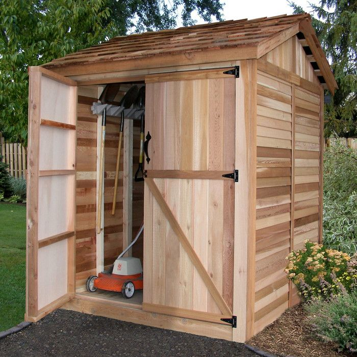 17 best ideas about shed storage solutions on pinterest for Garden storage solutions
