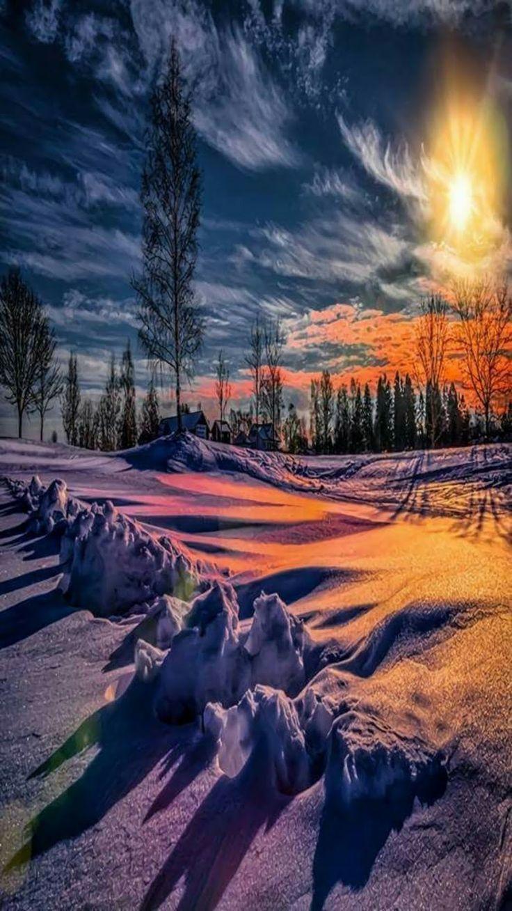 Winter Sunrise Surprise