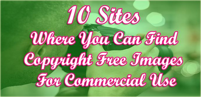 how to find copyright free images online