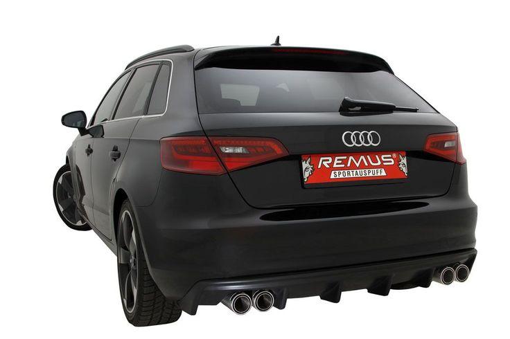 Twoje Audi S3 mogłoby mieć więcej mocy? Pewnie, że tak!  Dzięki Powerizerowi REMUS INNOVATION moc silnika kompaktowego Audi wzrasta do 353 KM a moment obrotowy do 455 Nm!  Zaskocz innych użytkowników dróg niesamowitymi osiągami!  Remus Polska http://www.remus-polska.pl/