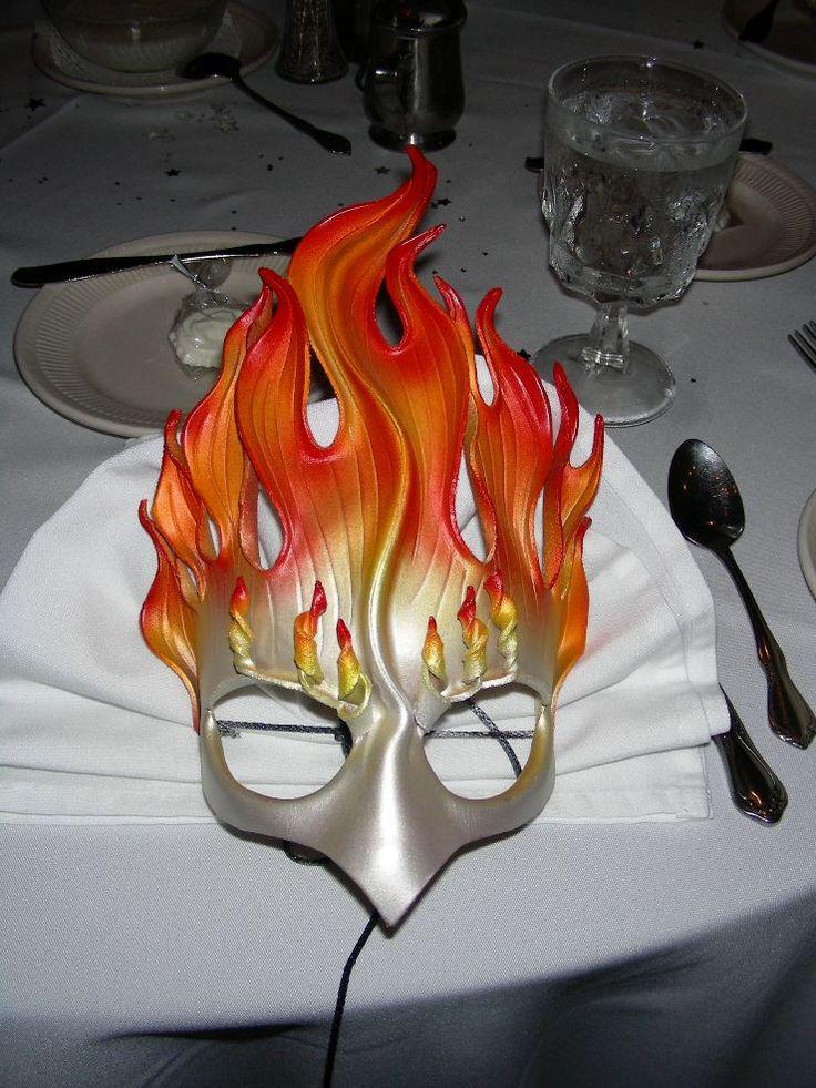 маска огонь картинки оно