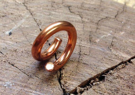 Kupfer-Spule Gewichte  Ohrringe für gedehnte von PeachTreats