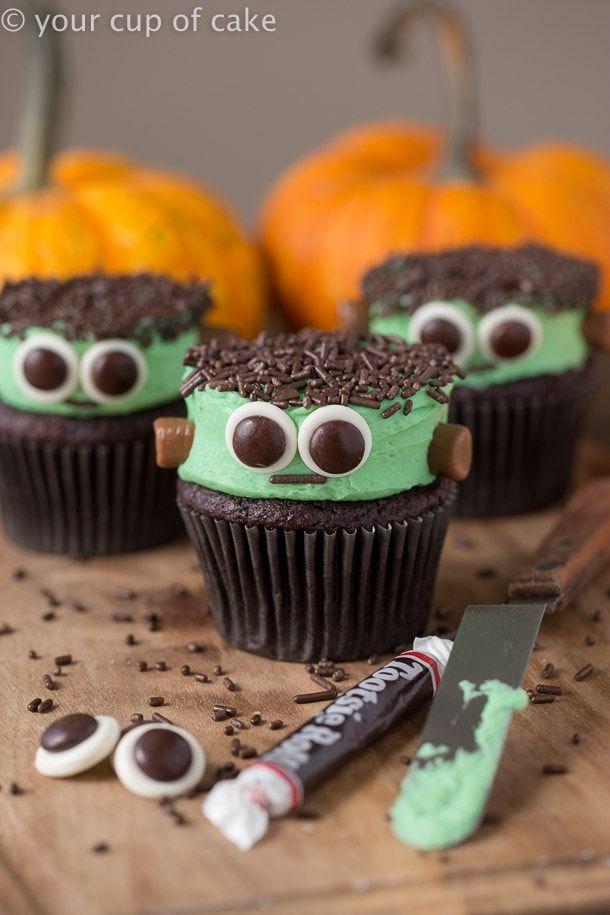 20 ideas fáciles de decoración de magdalenas de Halloween para niños y adultos por igual   – Halloween Cupcakes