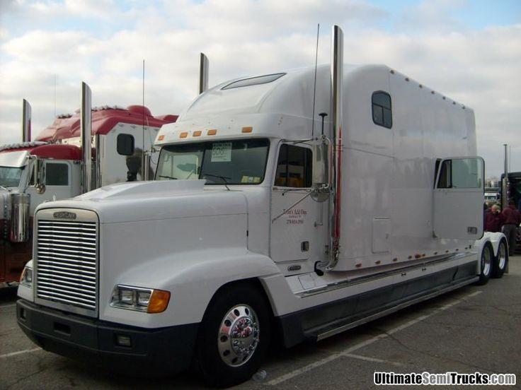 Freightliner With A Mega S T R E T C H E D Sleeper 18
