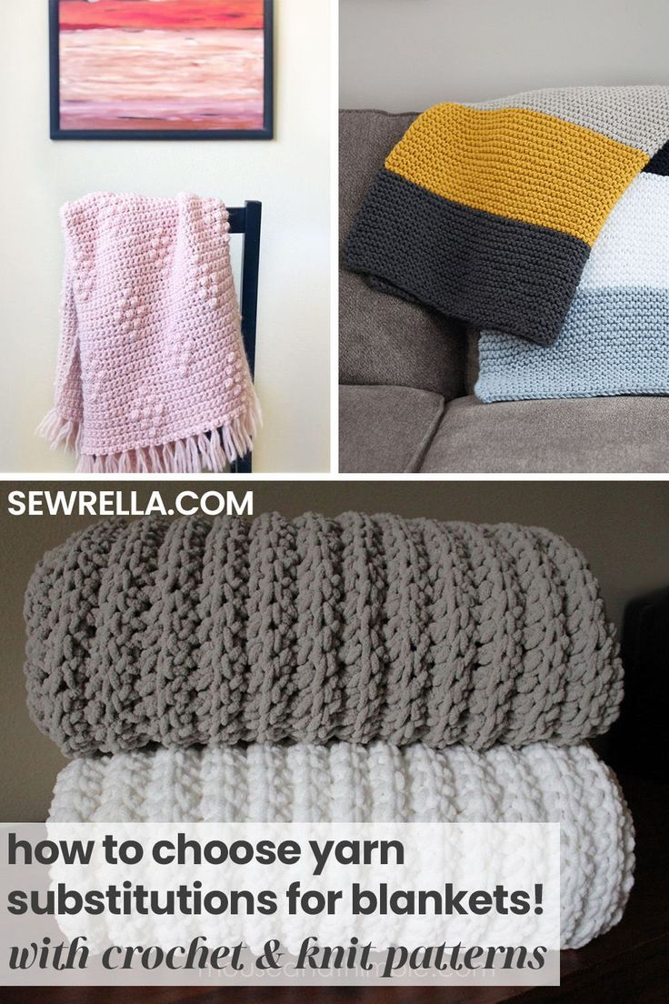 How To Choose Yarn Substitutions For Blankets In 2020 Blanket