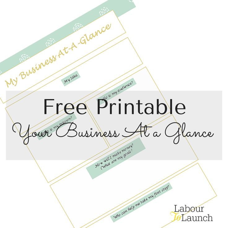 Download this simple business plan template and get on the path to creating your own business today.