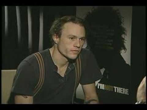 Last interview with Heath Ledger. - YouTube