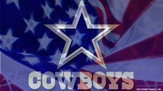 dallas cowboys | NFL Dallas Cowboys Logo On Windy USA American Flag 1920x1080 HD
