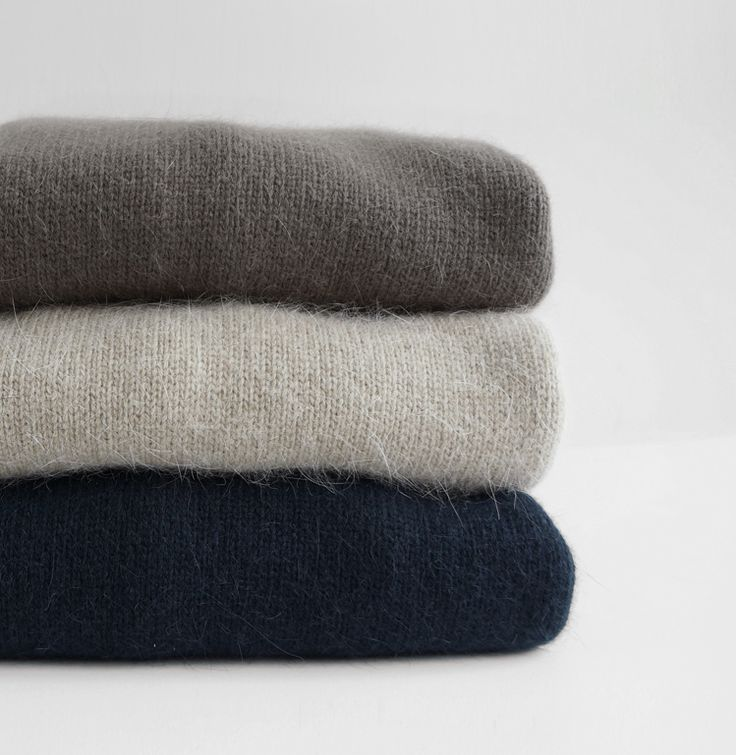 Natural colors in cashmere - go with everything!