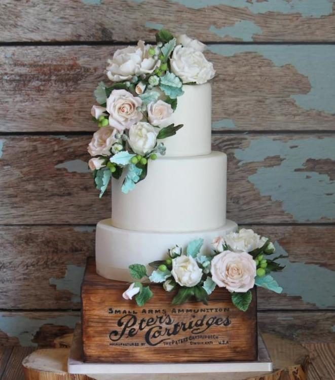 10 Rustic And Chic Wedding Cakes