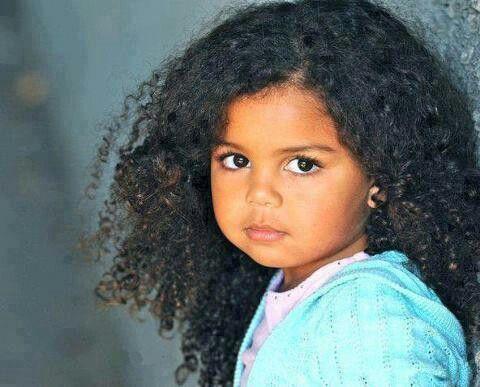 Beautiful Nubian Child-Egypt.