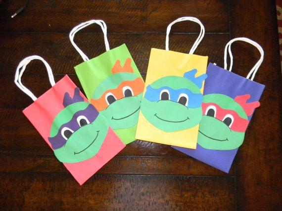 Teenage Mutant Ninja Turtles gift/goodie by CreativeLittleTouch, $2.50