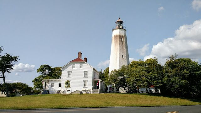Маяк Сенді-Хук, Нью-Джерсі (Sandy Hook Lighthouse, NJ)