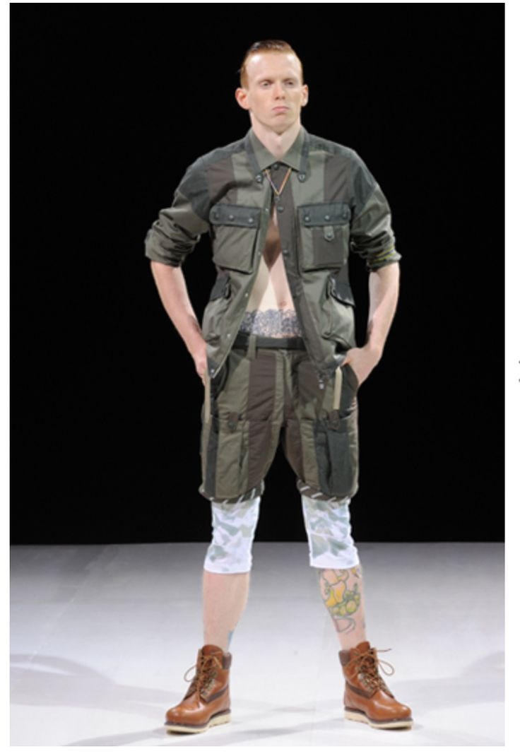 S/S works wear style. from whitemountaineering