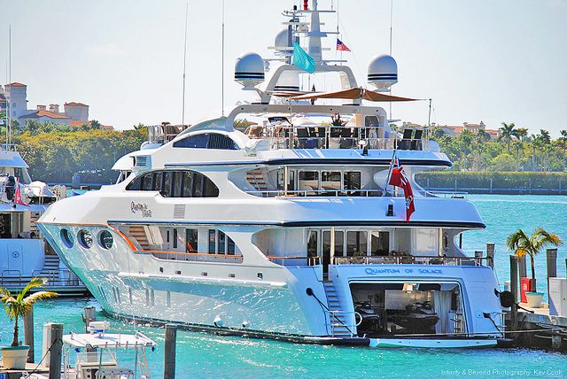Quantum Of Solace Mega-Yacht | Seatech Marine Products / Daily Watermakers