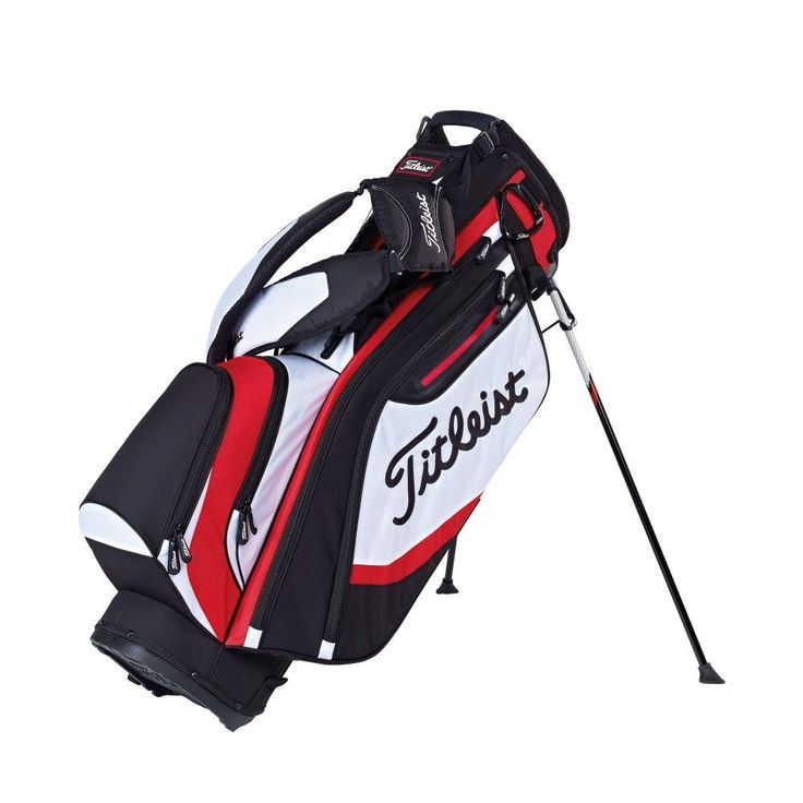 Titleist Lightweight Stand Bag - 2015 - Keep your clubs together and keep your head in the game with Titleist Golf - https://www.foremostgolf.com/titleist-lightweight-stand-bag-2015