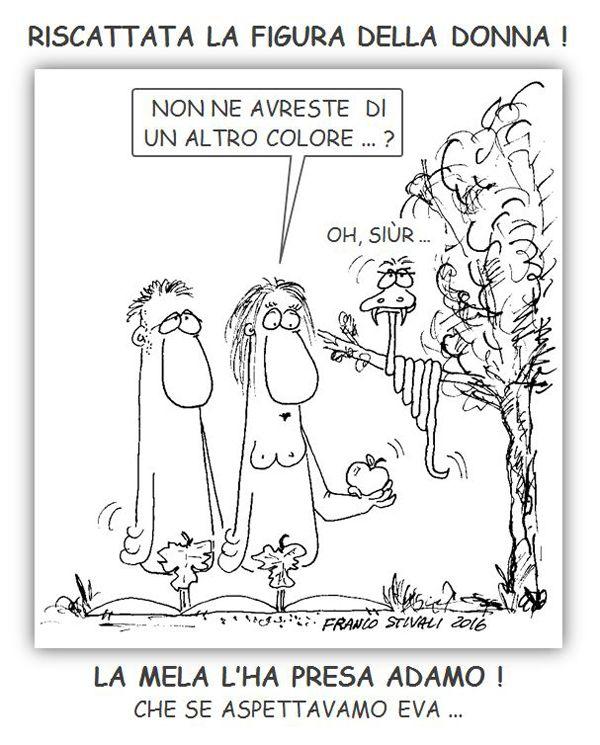 """ITALIAN COMICS - """"Il Mondo in una Vignetta di Franco Stivali"""": 8 marzo. Festa della donna"""