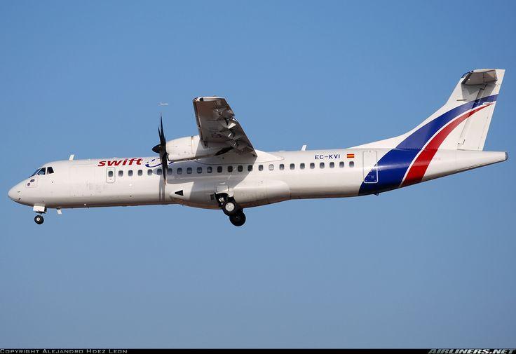 ATR ATR-72-500 (ATR-72-212A) - Swiftair   Aviation Photo #1526548   Airliners.net
