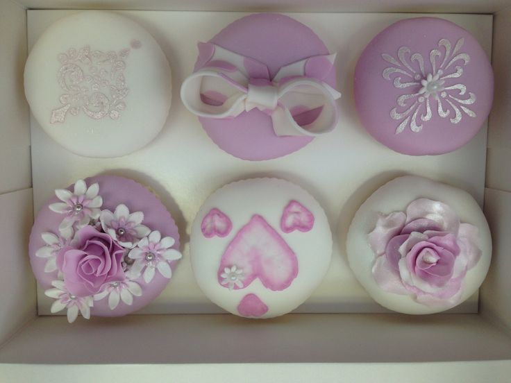 My cupcakes from my cupcake class.