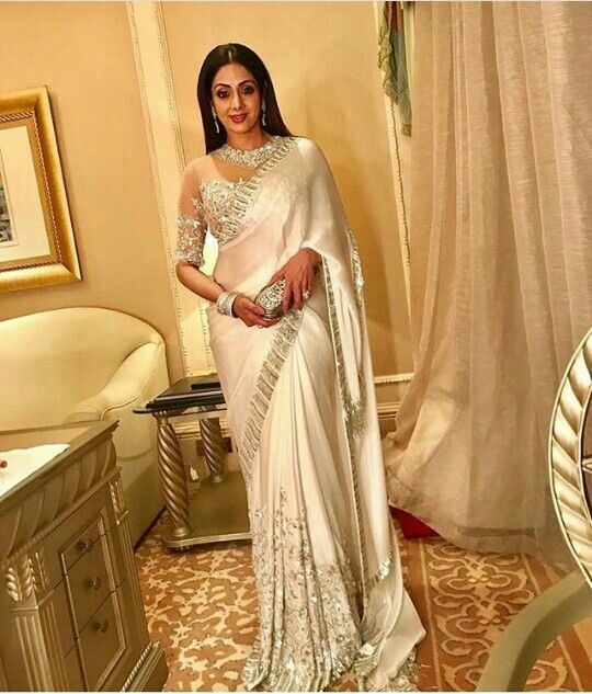 Sri Devi in Manish Malhotra