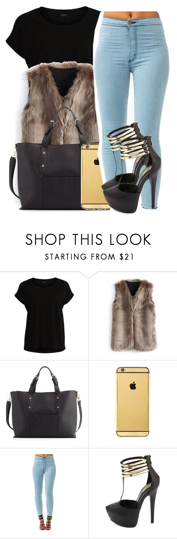 """✨NYFW✨"" by g0aldigger ❤ liked on Polyvore featuring VILA, Chicwish, Neiman Marcus, Goldgenie, Charlotte Russe, GetTheLook, NYFW and valentinesday"