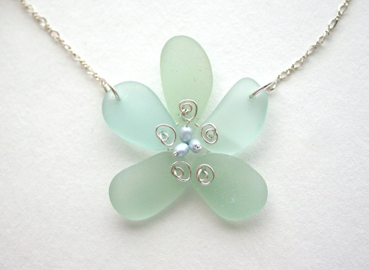 343 best Sea Glass Jewelry images on Pinterest Sea glass jewelry