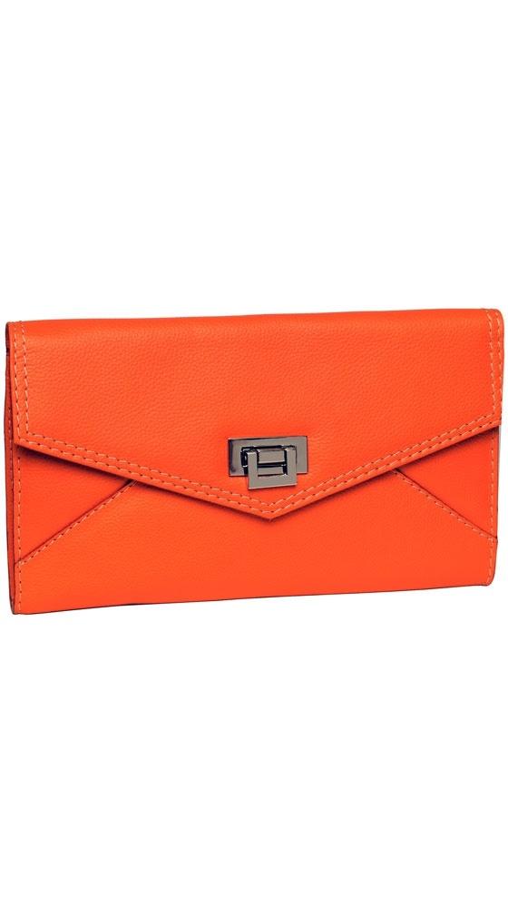 Envelope Clutch in Tangerine: Envelope Clutch, Color, Outfit, Tangerine Envelope