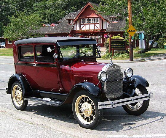 Ford Modell A (1928–1931) – 1928 Ford Model A Tudor Sedan