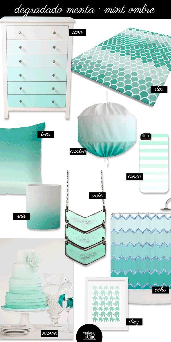 M s de 1000 ideas sobre habitaciones de color verde menta - Decoracion de paredes en verde ...