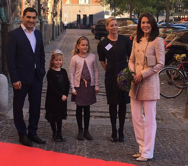 Crown Princess Mary attend ceremony of Startup World Cup 2016 award