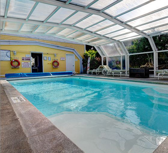 Take a refreshing dip in our indoor pool.