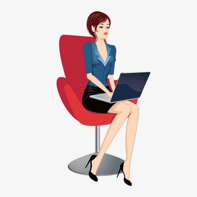 Открытка бизнесвумен, объемный открытка