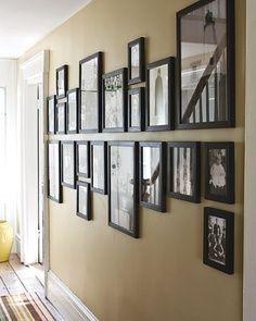 Frame wall for loft