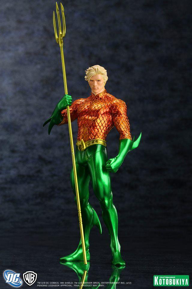 STATUES: Aquaman coming to Kotobukiya New 52 line