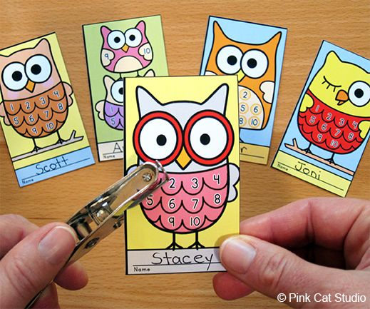 Motivate your students to achieve goals and good behavior with these fun and unique owl punch cards. Your students will love the cute owl characters and they will be excited to earn a punch on their card. Use these cards for behavior management, skill proficiency, Accelerated Reader, homework completion, goal achievement or anything else you can think of.