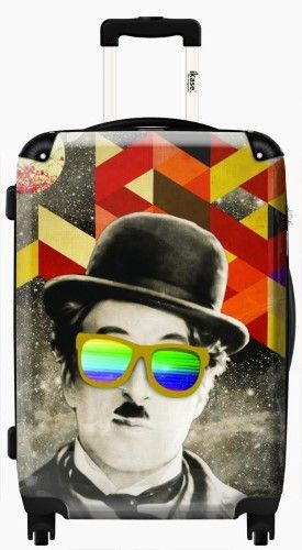 M.Monroe by Elo Marc,Hardside suitcase,Spinner,Upright Luggage,24-Inch