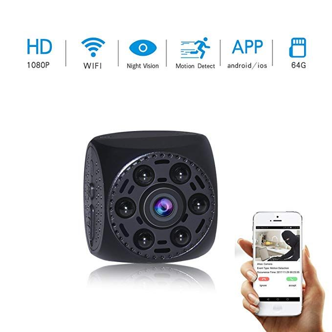 Mini Spy Camera Motion Detection Hidden DV DVR Nanny Cam IR Night Vision 1080P