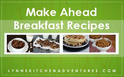 Make Ahead Breafast Recipes