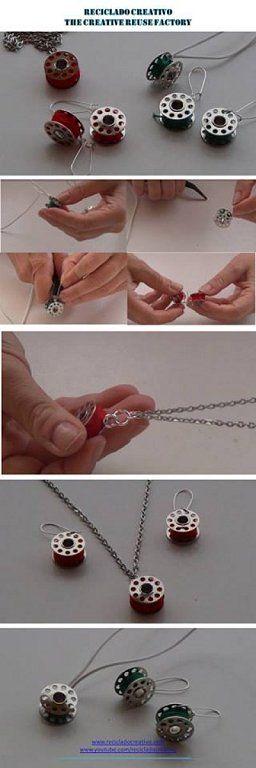 Tres ideas DIY de bisutería para regalar en San Valentín a las amantes de la moda y la costura | Aprender manualidades es facilisimo.com
