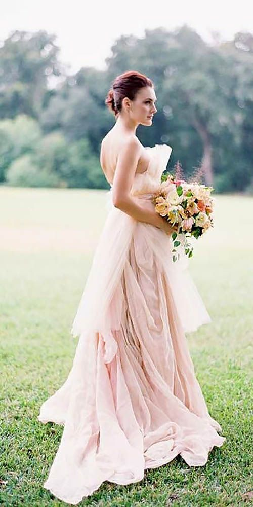 The 25 best blush wedding gowns ideas on pinterest pink wedding the 25 best blush wedding gowns ideas on pinterest pink wedding dresses beautiful gowns and princess gowns junglespirit Images