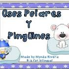 """If you are teaching about animals, habitats or """"Polar Bears & Penguins"""" unit, here you can find a great Spanish resource to add to your lesson!..."""