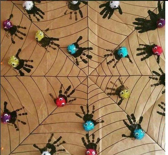 Best 25 spider crafts ideas on pinterest halloween arts for Spider crafts for preschoolers