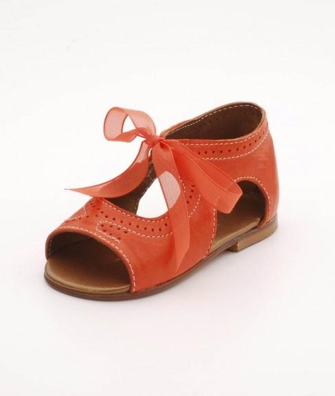 Chupeta Bary Sandal - Orange