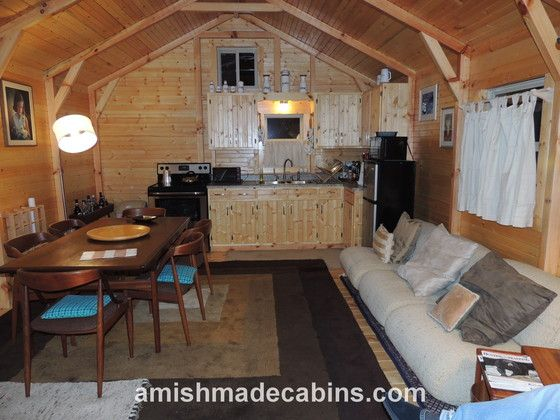 Amish made cabins deluxe appalachian portable cabin kentucky cabins pinterest portable - Appalachian container cabin ...