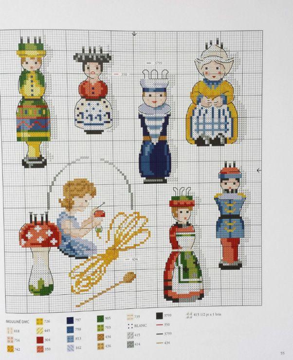 Gallery.ru / Фото #56 - Les plus belles collections au point de croix - Gala40